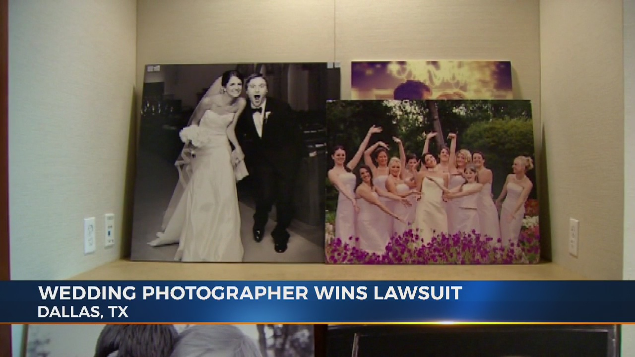 Photographer wins defamation suit against newlyweds