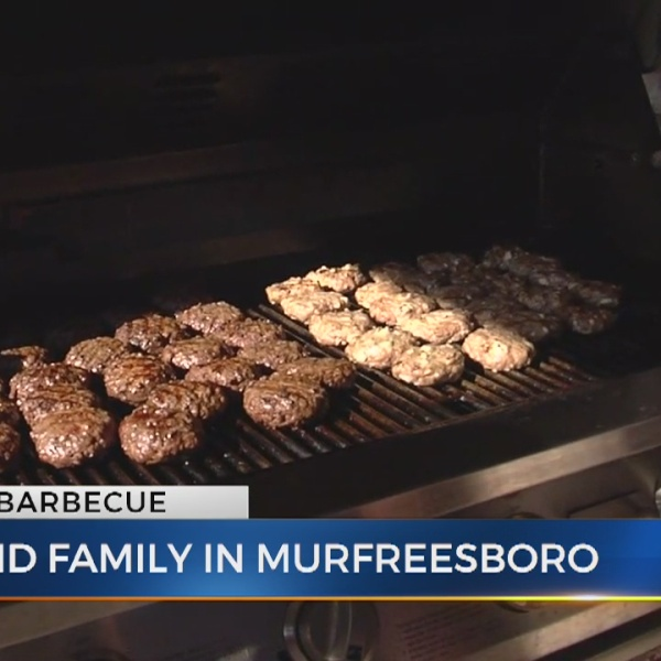 Copeland family hosts BBQ with News 2's Danielle Breezy