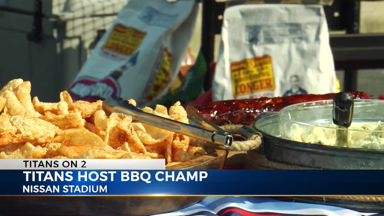 Titans, Academy Sports host 7-time barbecue world champion