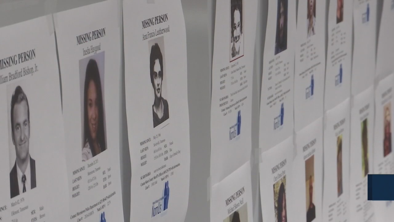 There are 459 missing persons cases in Tennessee