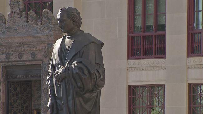 Christopher Columbus statue_437216