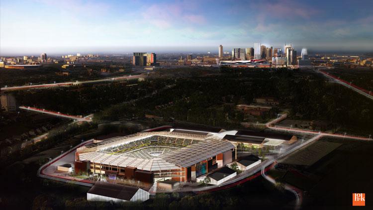 Major League Soccer MLS stadium
