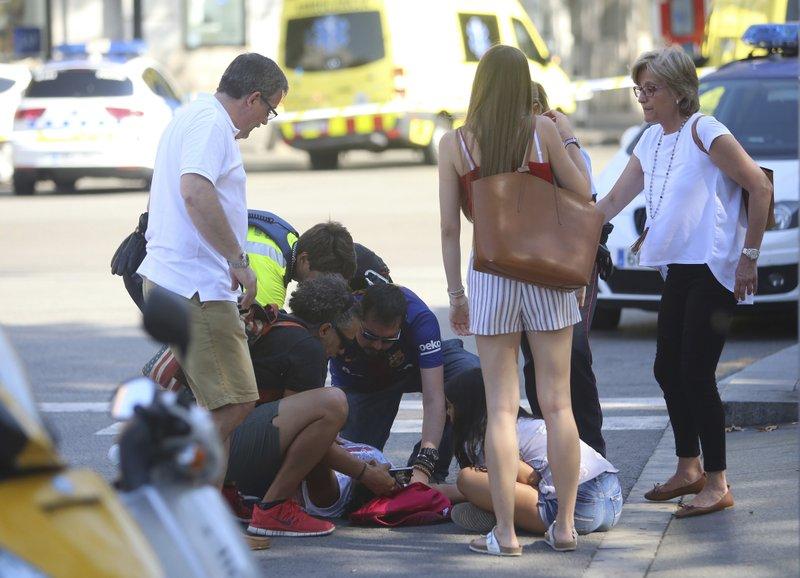 Barcelona van attack_435498