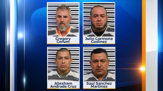 Saul Sanchez Martinez, Abraham Andrade Cruz, Julio Carmona Godinez, Gregory Corum_437443