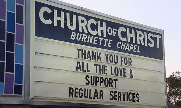 First service at Burnette Chapel Church of Christ, Antioch church shooting_447600