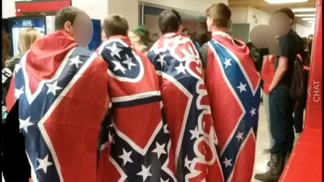 Hawkins County Confederate flags_447700