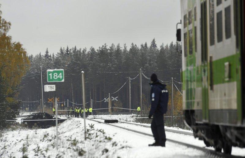 FINLAND TRAIN CRASH_454970