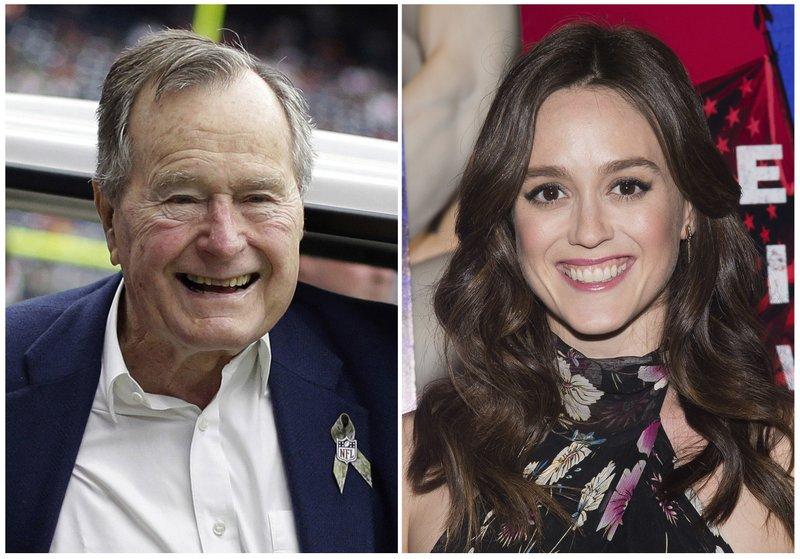 George HW Bush and Heather Lind_454966