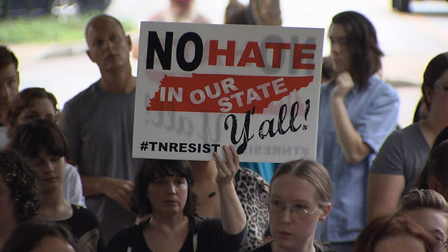 Murfreesboro peace rally Charlottesville_434299