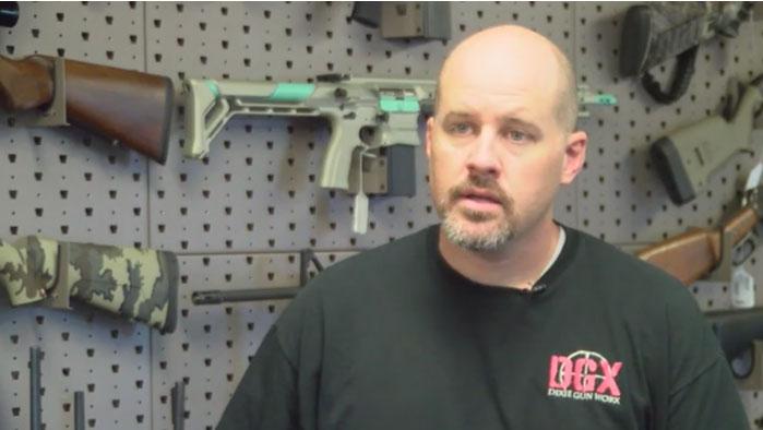Chris Michel, owner of Dixie GunWorx, Las Vegas shooting_448751