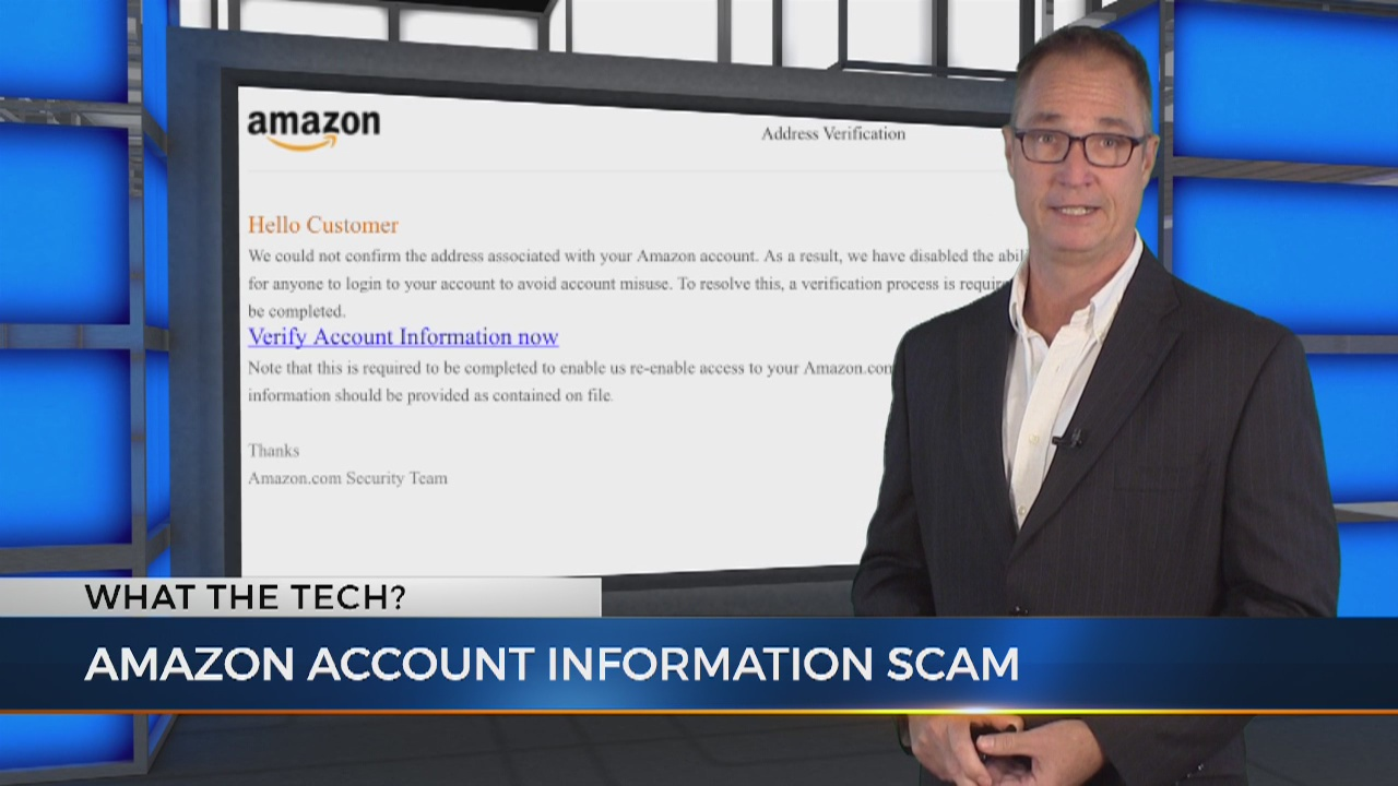 What the Tech: Amazon shoppers beware of scam to steal your