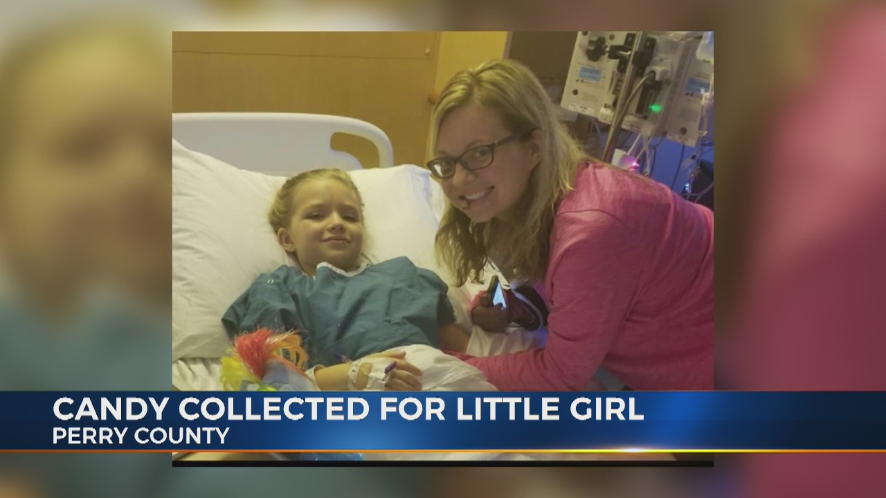 Perry County comes together to help little girl celebrate Halloween