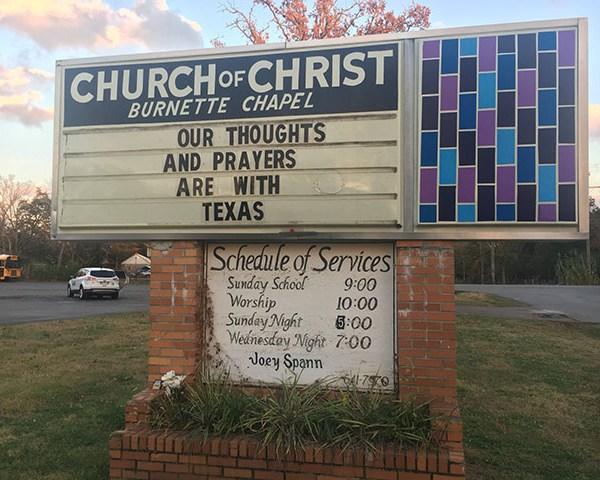 Burnette Chapel Texas Church Shooting_457959