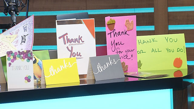 Ty, Kelly and Chuck Thank You notes_458265