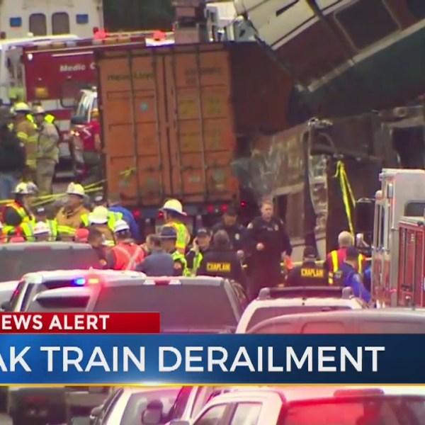 Deadly train derailment