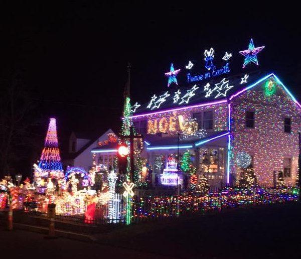 Fairfield Connecticut Christmas display_465615