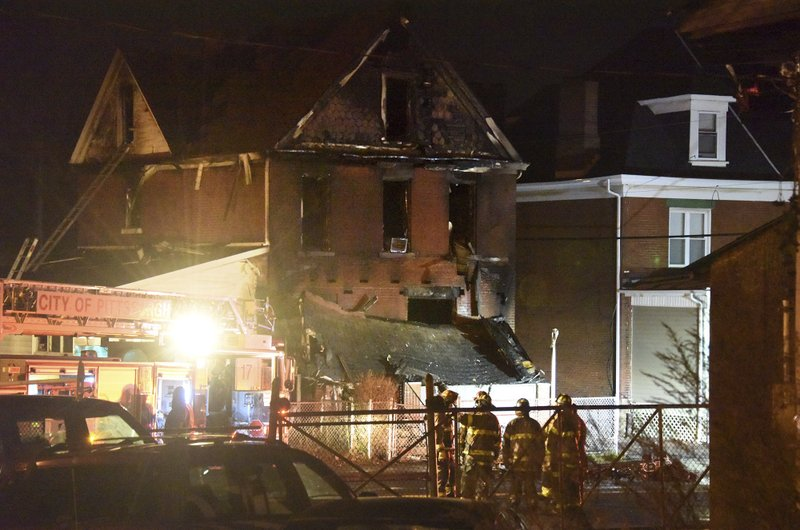 Pittsburgh house fire_470848