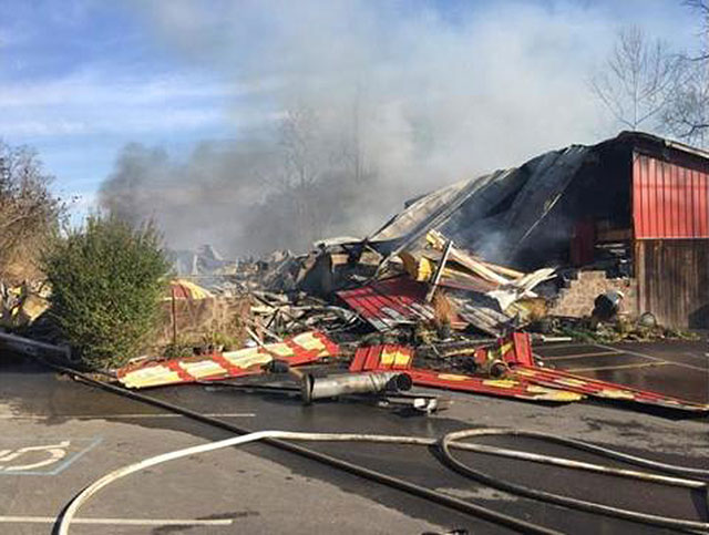 Ponderosa Zoo fire Anderson County_466482