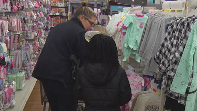 Shop with a Cop, Officer Casey Stupka_470368