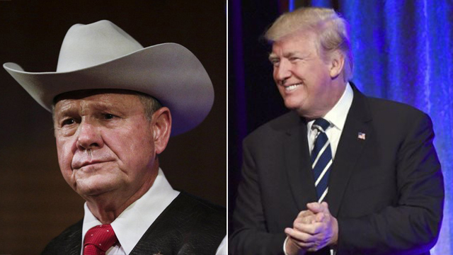 Roy Moore and Donald Trump_466234