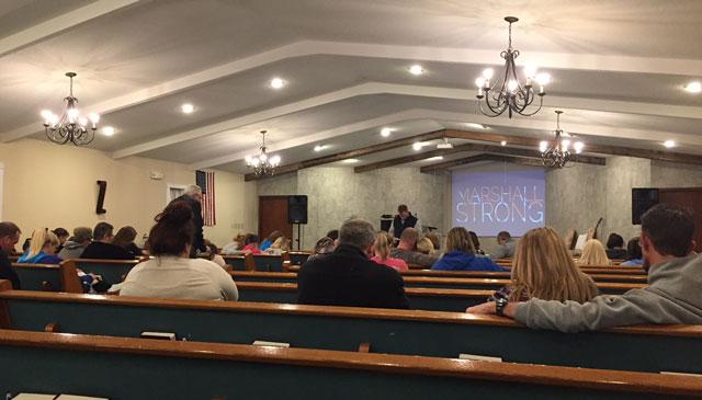 Calvary Baptist Church, Marshall County High School shooting_479800
