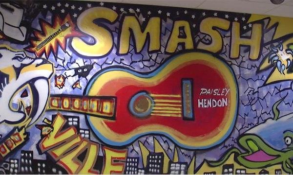 Brad Paisley mural_478942