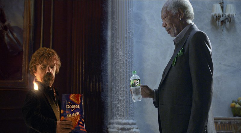 Peter Dinklage Morgan Freeman Super Bowl ad_483048