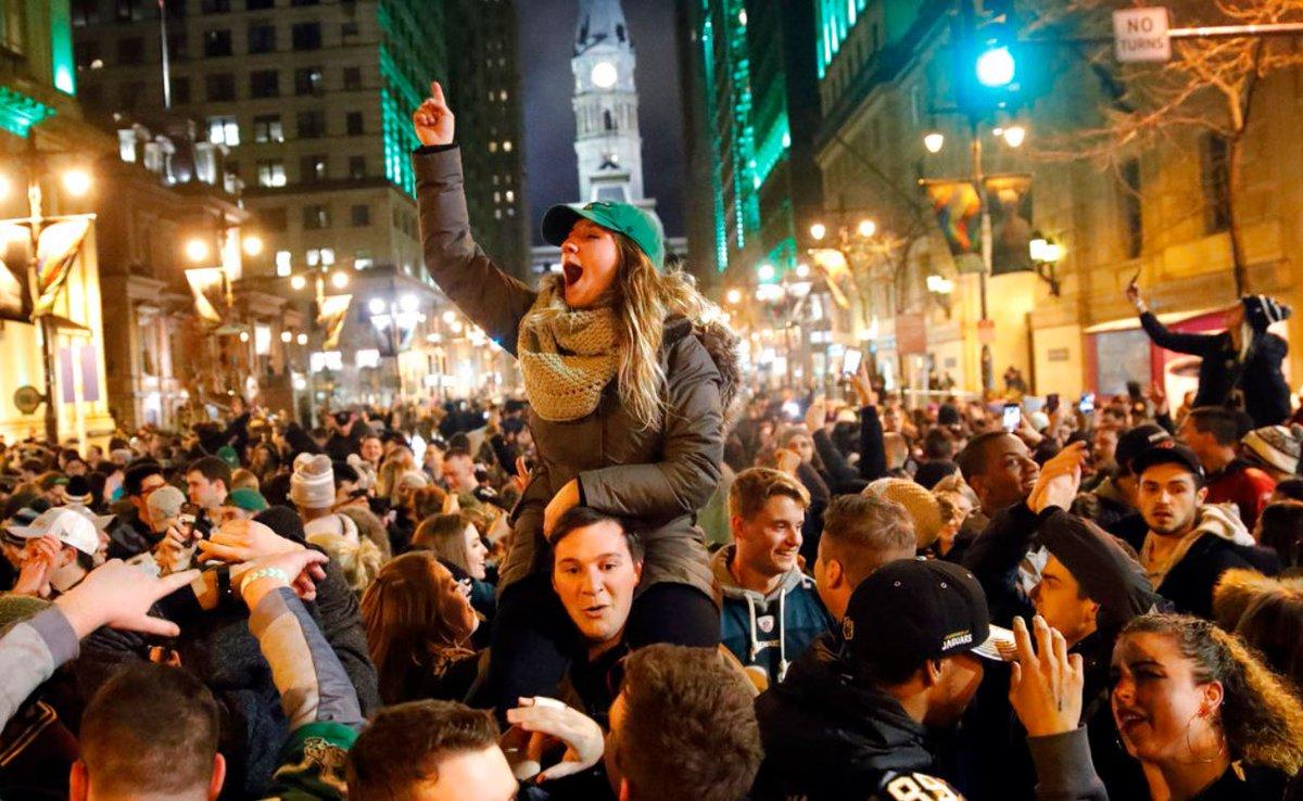 Philadelphia celebrates Super Bowl_483052