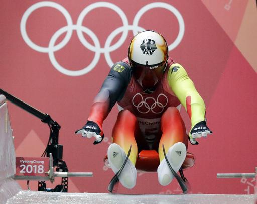 Pyeongchang Olympics Luge Men_485054