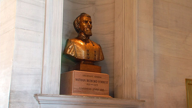 Nathan Bedford Forrest statue state capitol_483625
