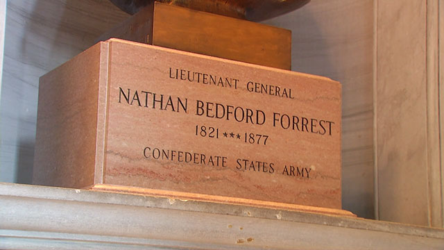 Nathan Bedford Forrest statue state capitol_483626