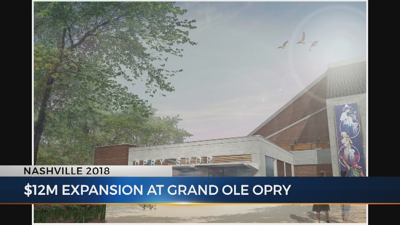 Grand Ole Opry Expansion