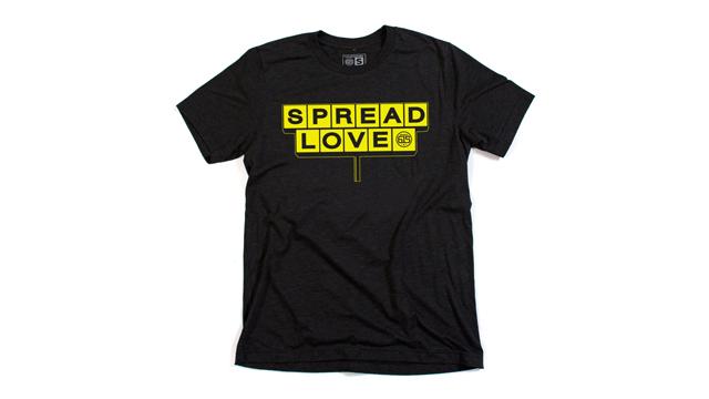 Waffle House spread love shirt