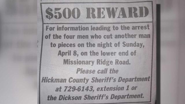 Hickman county reward