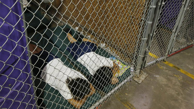 2014 immigrant children in cages
