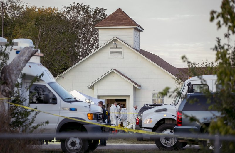 Texas church shooting_457999