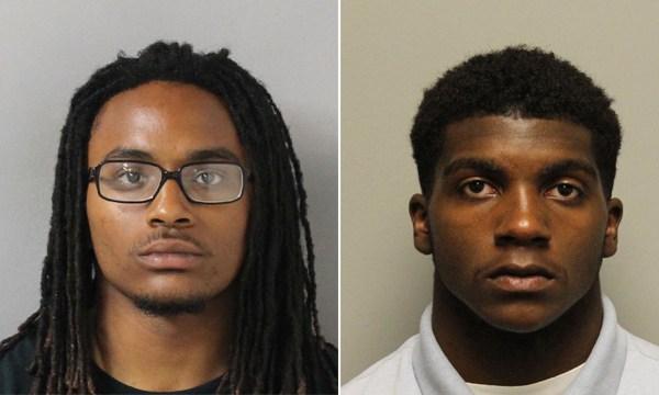 Oshae Stewart and Treyvon Palmer