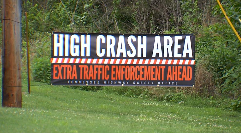 High crash area campaign