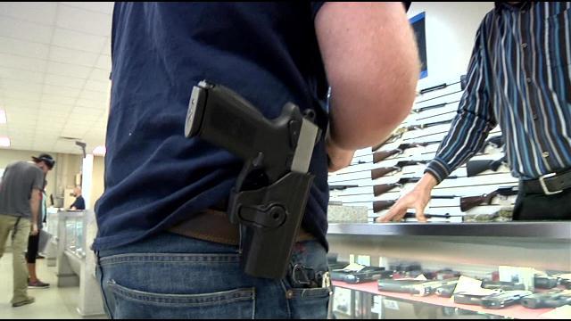 gun generic in holster
