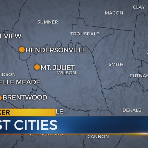 Crime data analysis reveals safest cities in Tennessee