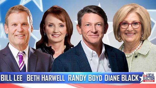 Bill Lee Beth Harwell Randy Boyd Diane Black