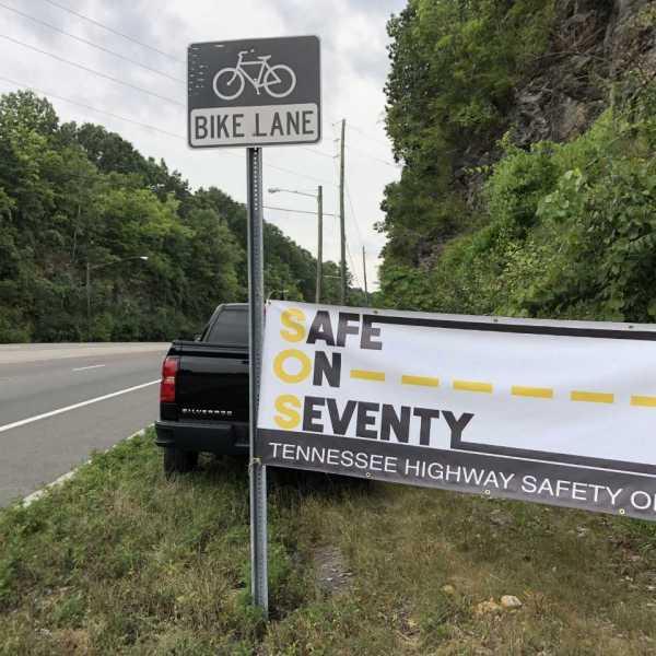 'Safe on Seventy' campaign