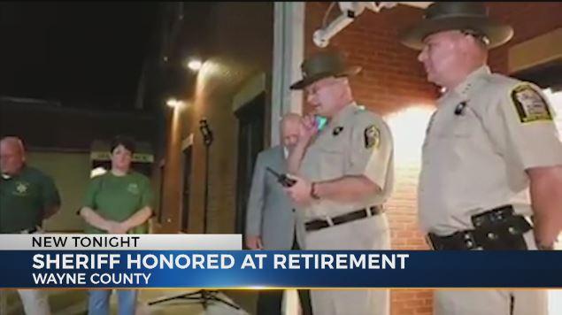 Wayne County's longest serving sheriff retires