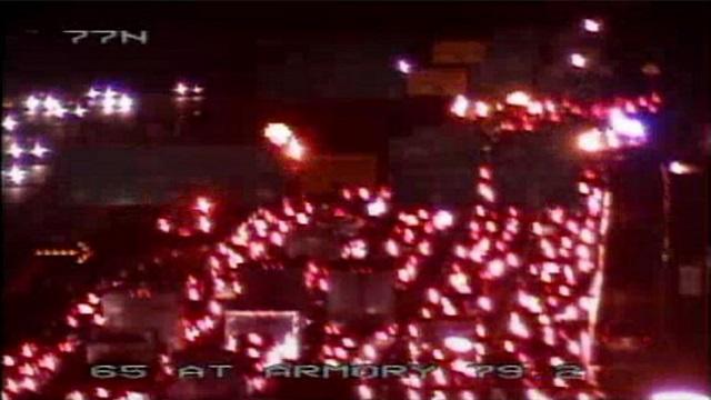 Crash on I-65 and I-440 kills one