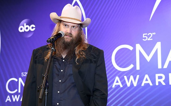 Chris Stapleton wins 3 CMA Awards