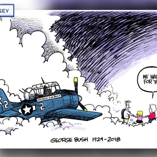 COVER PHOTO_UT grad cartoonist tribute to GHW Bush goes viral_1203_1543891634747.JPG-727168854.jpg