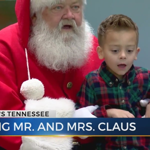 Meeting Mr. and Mrs. Claus
