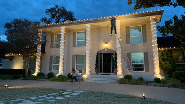 National Lampoon Christmas decor
