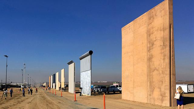 Border wall generic
