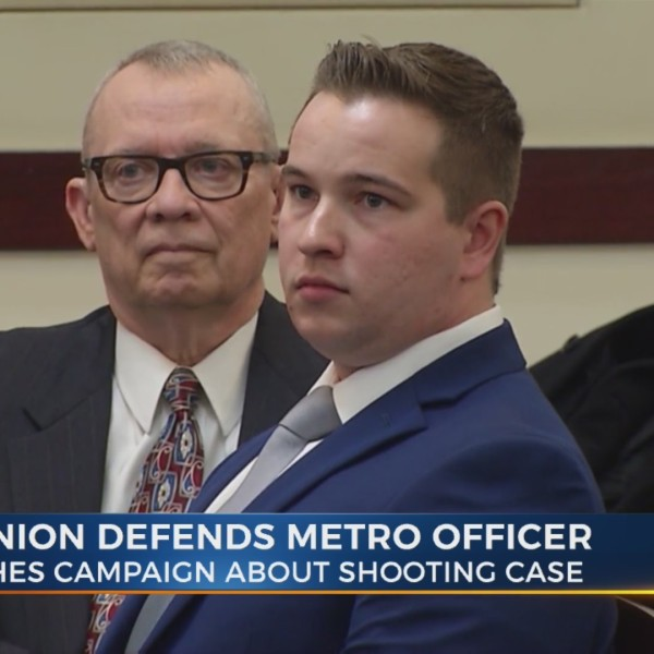 Police union defends Metro officer charged in deadly shooting